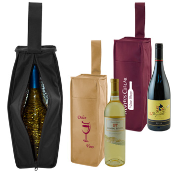 Insulated 1 Bottle Tote
