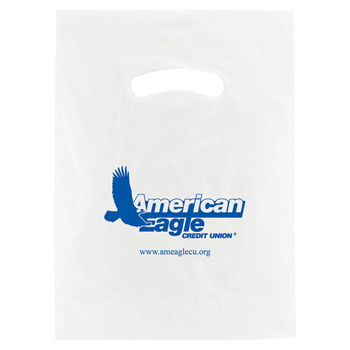 White Super Gloss Die Cut Handle Bags