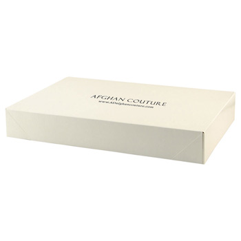 Pop-up Apparel Box - Frost White Gloss