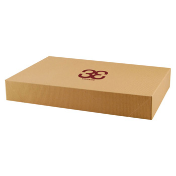 Pop-up Apparel Box - Natural Kraft