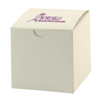 Fold-up Gift Box - Frost White Gloss