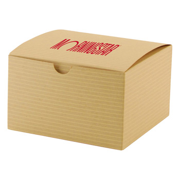 Fold-up Gift Box - Color Tinted Kraft