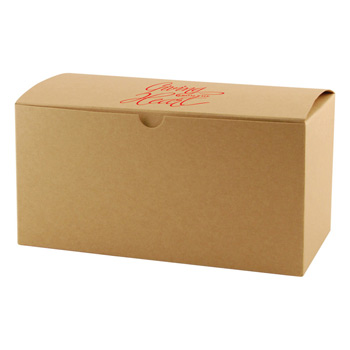 Fold-up Gift Box - Natural Kraft