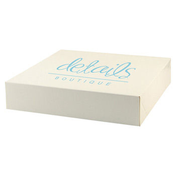 Pop-up Gift Box - Frost White Gloss